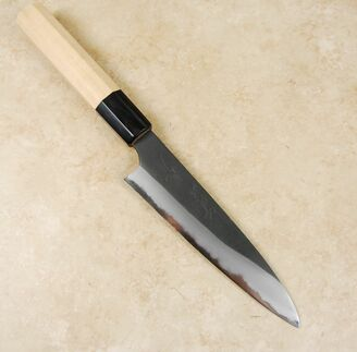 Mazaki White #2 Kurouchi Gyuto 150mm