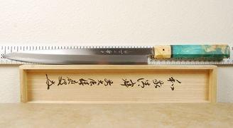 Misuzu White #2 Yanagiba 300mm Left Handed Custom