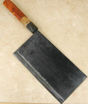 Moritaka AS Cleaver 210mm Custom