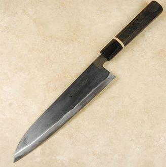 Moritaka AS Gyuto 210mm Bog Oak