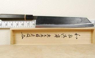 Moritaka AS Kiritsuke 270mm Bog Oak