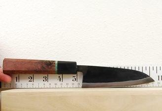 Moritaka AS Mini Santoku 130mm Custom