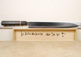Moritaka AS Yanagi/Suji 300mm Bog Oak