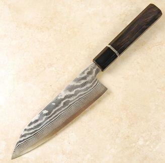 Okeya Ryu-Rin G3 Damascus Santoku 170mm