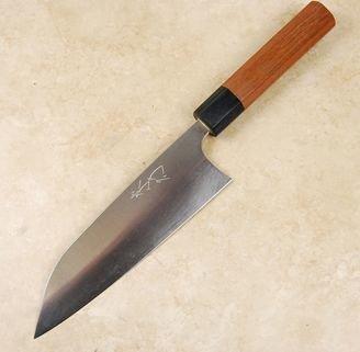 Shibata Kotetsu AS Santoku 170mm
