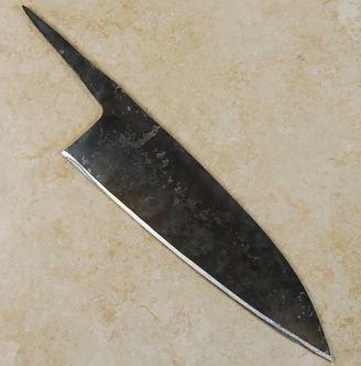 Yoshimitsu Un Heat Treated Funayuki 180mm Knife Blanks