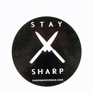 Stay Sharp Sticker