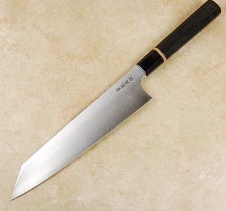 Sukenari AS Hairline Kiritsuke 240mm Bog Oak