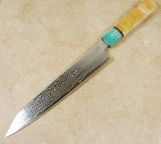 Sukenari ZDP189 Damascus Kiritsuke 240mm