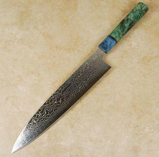 Sukenari ZDP189 Damascus Gyuto 270mm