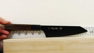 Takayuki Kurokage VG10 Hammered Teflon Coated Bunka 160mm