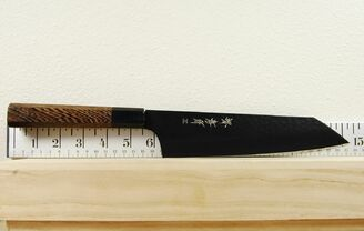 Takayuki Kurokage VG10 Hammered Teflon Coated Bunka 190mm