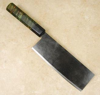 Takeda Stainless Clad AS Nakiri Custom