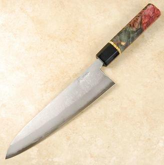 Tanaka Blue #2 Nashiji Gyuto 210mm Custom