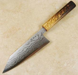 Tanaka Sekiso Blue #2 Damascus Bunka 165mm