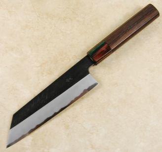Yoshikazu Tanaka Blue #1 Kurouchi Bunka 165mm