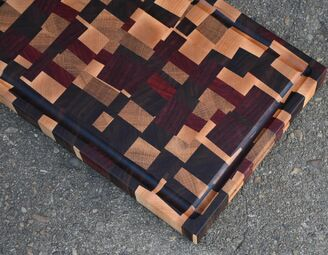 Timbered Wolf Chaos Cutting Board 18