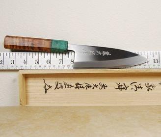 Tojiro Aogami Deba 150mm Custom