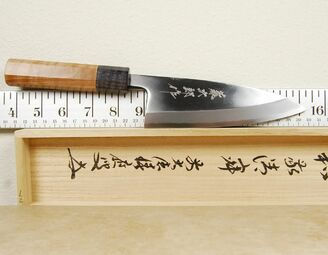 Tojiro Aogami Deba 150mm Custom