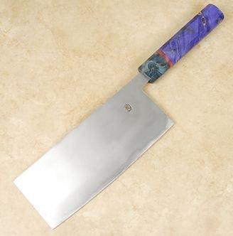 Tsubaki Kori Blue #2 Tall Nakiri 180mm