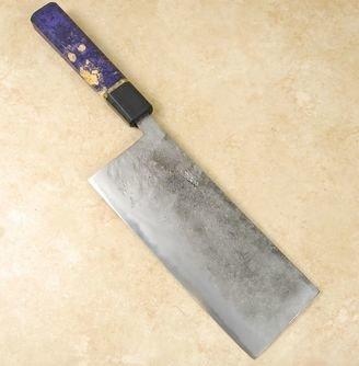 Tsubaki Kori Blue #2 Small Cleaver/ Tall Nakiri 190mm