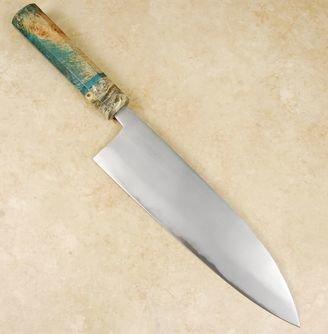 Tsubaki Kori Blue #2 Gyuto 210mm Custom