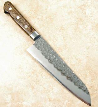 Tsunehisa AUS8 Santoku 180mm