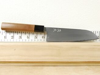 Yasha Yukawa White #2 Santoku 170mm