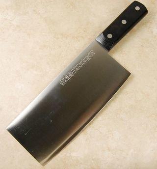 Yasunori Ginsan Cleaver 200mm