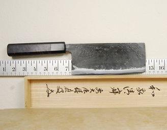 Yoshimitsu AS Tall Nakiri 180mm Custom