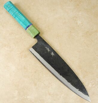 Yusaku Blue #2 Gyuto 210mm Custom