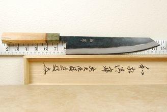 Yusaku Blue #2 Kiritsuke 245mm Custom