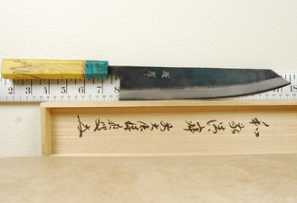 Yusaku Blue #2 Kiritsuke 245mm Custom