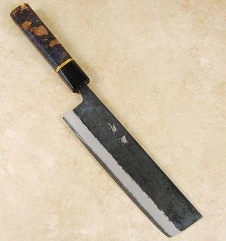 Yusaku Blue #2 Nakiiri 180mm Custom