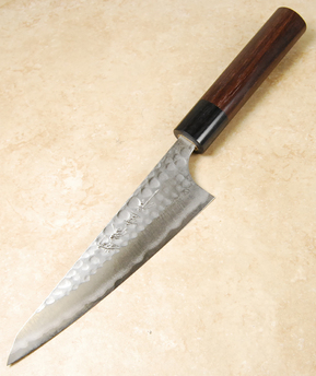 Anryu Blue #2 Hammered Honesuki 150mm