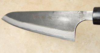 Anryu Kurouchi Damascus Gyuto 210mm