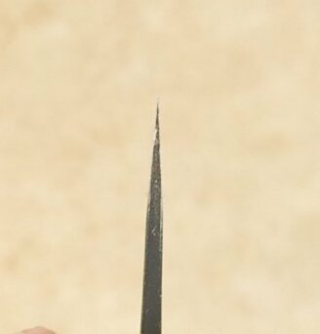 Anryu Kurouchi Damascus Santoku 165mm