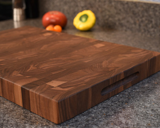 CKTG Walnut End Grain Board 18 x 12 x 1 1/2