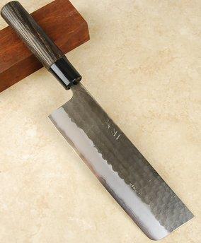 Itto-Ryu Hammered White #2 Nakiri 175mm