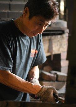 Kato Nashiji Suminagashi Santoku 165mm