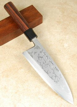 Kitaoka Damascus Deba 180mm White #1