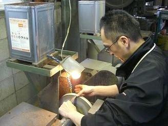 Minamoto Hamon Nakiri 165mm
