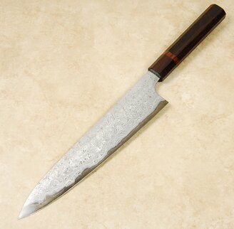 Nigara White #2 Damascus Gyuto 240mm