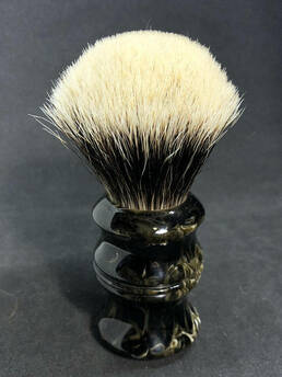 Premium High Mountain White Badger Shaving Brush 26mm