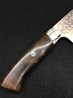 Saji R-2 Hammered Gyuto 240mm Custom