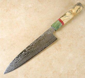 Sukenari ZDP189 Damascus Gyuto 210mm