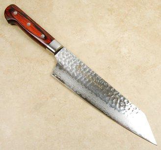 Takayuki Damascus Hammered VG-10 Kengata 190mm
