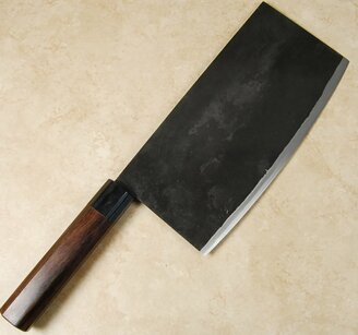 Takeda Stainless Clad Cleaver Large