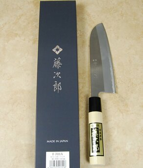 Tojiro Shirogami Hairline Santoku 165mm
