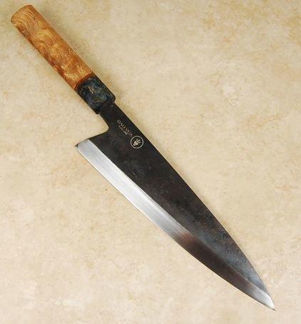 Daovua Leaf Spring Steel Gyuto 240mm Custom